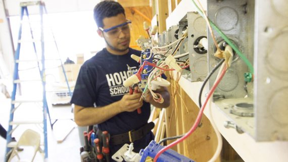 photo-trades-construction-training-program-hohokus-school-nj-electrician-student-horizontal-panels