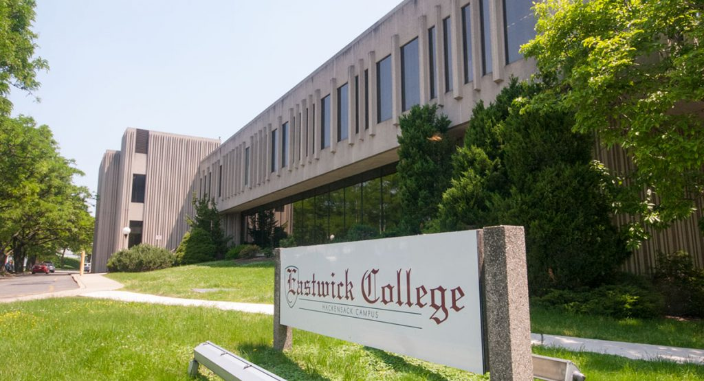 Front of eastwick college in hackensack