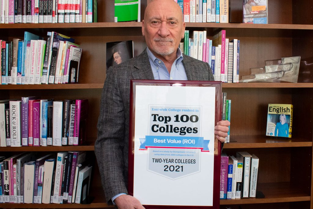 Eastwick Named Top 2-Year College - Bergen County, NJ